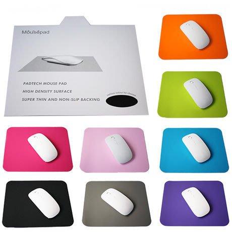 【洛可可】蘋果電腦御用 超薄止滑矽膠滑鼠墊 馬卡龍 電競滑鼠 光學滑鼠 MACBOOK AIR IPAD