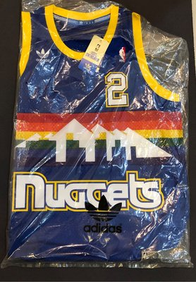 J~ NUGGETS ENGLISH adidas M號 NBA HARDWOOD CLASSICS SWINGMAN