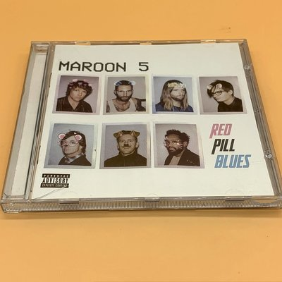全新CD Maroon5 red pill blues CD 專輯