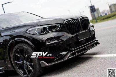 SPY國際 BMW G01 G02 X3 X4 前下巴 側裙 後下巴 尾翼