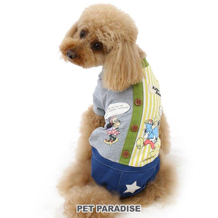 貝果貝果  日本 PetParadise 代理 Disney 米奇米妮拼接連身褲 [D2051]