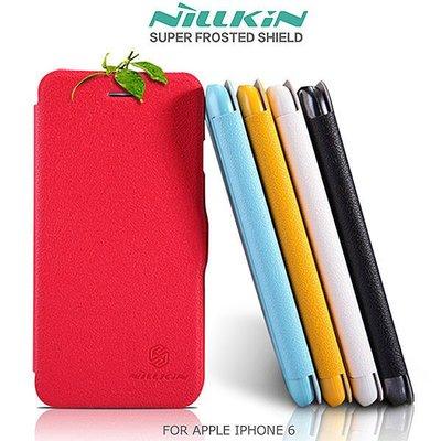 台南米可【MIKO手機館】NILLKIN APPLE IPHONE6 新皮士鮮果系列超薄 側翻皮套 磁扣保護套(ID5)