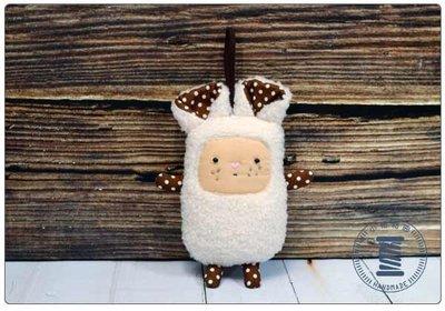 ✿小布物曲✿ 怪奇可愛生物  巧妙運用車縫 手工製作出可愛小布偶 日本進口布料質感優 針包
