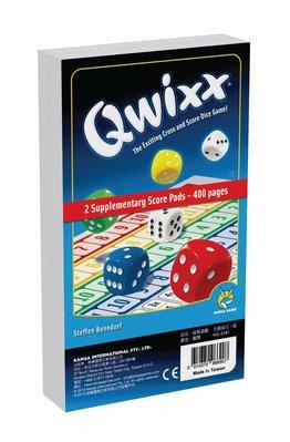大安殿實體店面 快可思 Qwixx 補充計分組 400 pages 正版益智桌上遊戲