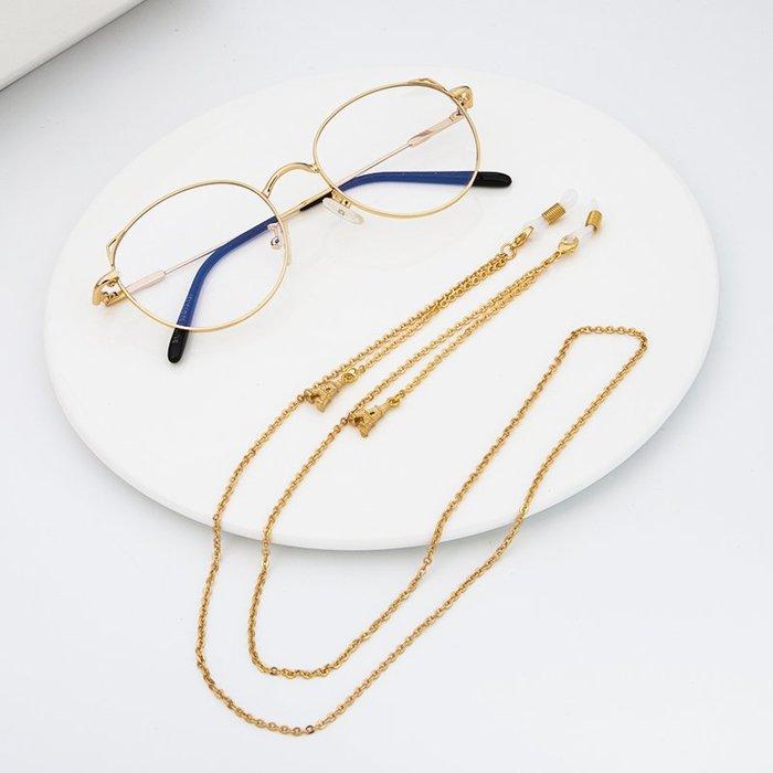爆款熱賣-眼鏡掛鏈項鏈太陽鏡防掉眼鏡繩眼鏡鏈眼鏡配件(鐵塔)