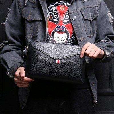 現貨/男手包手抓包休閒夾包商務軟皮信封包潮流時尚手拿包/海淘吧F56LO 促銷價