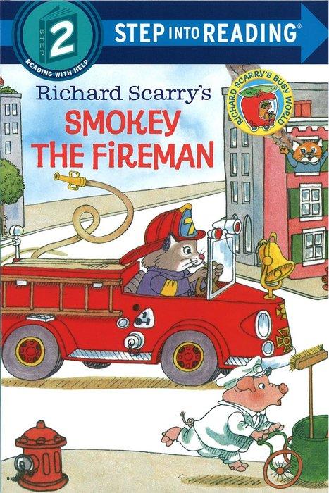 *小貝比的家*RICHARD SCARRY'S SMOKEY THE FIREMAN /L2/平裝書/3~6歲