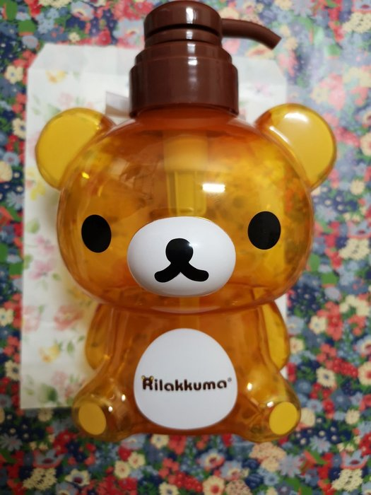 San-X Rilakkuma拉拉熊沐浴壓瓶550ml