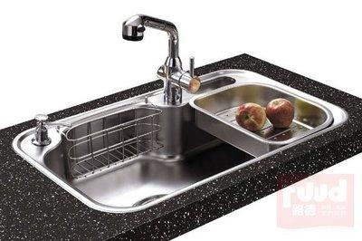 【路德廚衛】ENZIK sink韓國不鏽鋼水槽- DS-840PL (左大) 不鏽鋼水槽 歡迎來電詢問!!