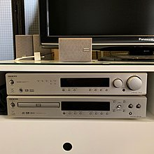 Onkyo Home Theatre including AV receiver, DVD player & 5.1 Powered Subwoofer