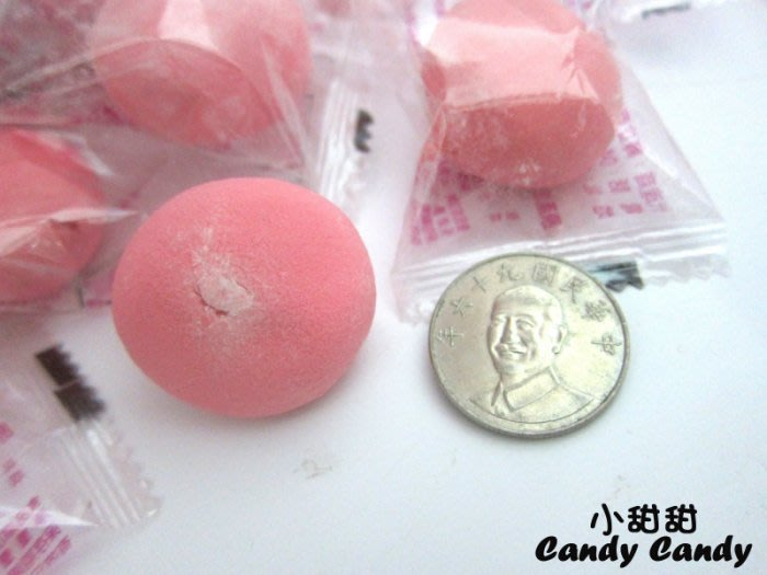 紅圓棉花糖 500g 草莓棉花糖 結婚喜慶~可替代紅湯圓~ 小甜甜