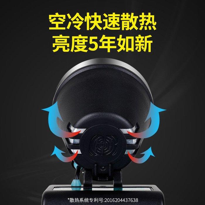 @生活家居城夜釣頭燈強光18650鋰電池充電超亮頭戴式手電筒超長續航疝氣戶外