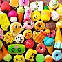 現貨squishy軟軟慢回彈20個一套大福包仿真蛋糕甜甜圈手機吊飾生日禮物兒童玩具兒童禮物三星愛迪達正韓