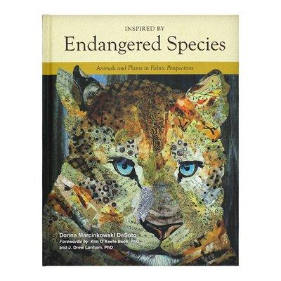 """英文原版 Inspired by Endangered Species 182種瀕危物種""""肖像"""" 畫冊 瀕危物種的啟發 織物視角中的動植物"""