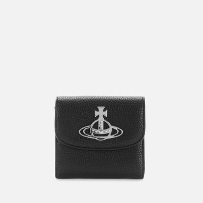 代購Vivienne Westwood Johanna Medium Wallet氣質優雅經典皮夾短夾