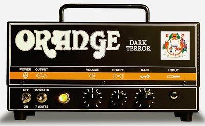 【金聲樂器】Orange Dark Tiny Terror 真空管音箱頭