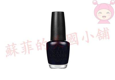【蘇菲的美國小舖】OPI 第凡內早餐假期系列~Black Dress Not Optional (HRH03) 特價