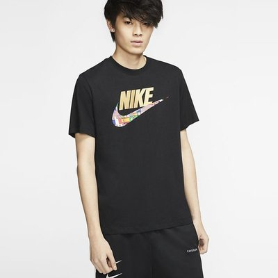 【吉米.tw】Nike NSW TEE PREHEAT HBR 運動休閒 短袖T恤 黑 CT6551-010 JUN