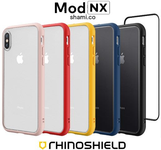 【贈膜+線】犀牛盾 MOD NX IPhone XR X XS MAX 7 8 Plus 防摔邊框手機殼 透明背蓋保護殼