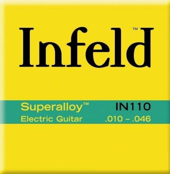 【老羊樂器店】Thomastik Infeld 奧地利手工 電吉他弦 Superalloy IN110