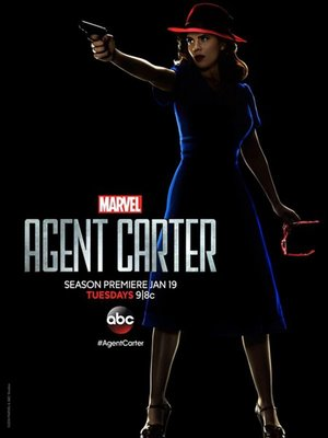 【藍光電影】特工卡特 第二季 2碟 Agent Carter Season 2 (2016) 122-072|122-073
