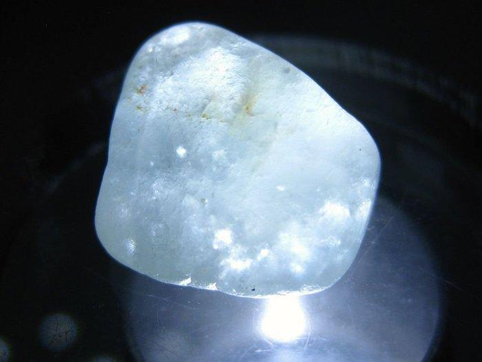 拓帕石 Topaz 天然無燒無處理 自然藍 原礦 標本 礦石 39【Texture & Nobleness 低調與奢華】