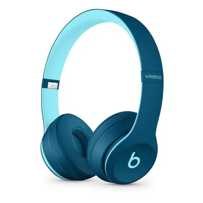 Beats Solo3 Wireless On-Ear Headphones – Beats Pop Collection – Pop Blue