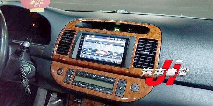 **Ji汽車音響**CAMRY 7吋 四核/八核心 台灣製造 正版授權導航 安卓9 手機鏡像 在地保固B