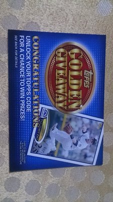 Topps Golden Give Away 洛磯 Troy Tulowitzki 10元起標