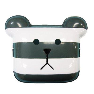 【beibai不錯買】派對道具 變裝 小朋友面具 日本進口 CRAFTHOLIC 宇宙人 監獄灰白條紋熊面具