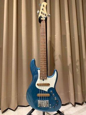 大鼻子樂器 Xotic XJ-1T 五弦 Lake Placid Blue #1389 Xotic 貝斯