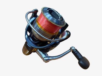 宏品二手家具館 中古釣具拍賣 FR21809*高階款 DAIWA 日本製 CERTATE 2500R* 釣竿 捲線器