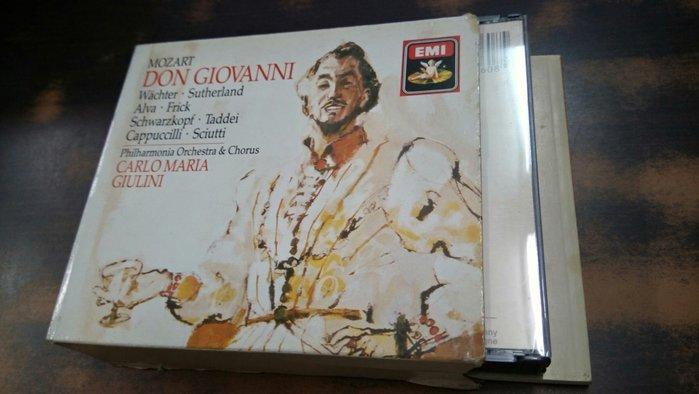 好音悅 Giulini 朱里尼 Mozart 莫札特 Don Giovanni 唐喬望尼 EMI 西德版 無IFPI