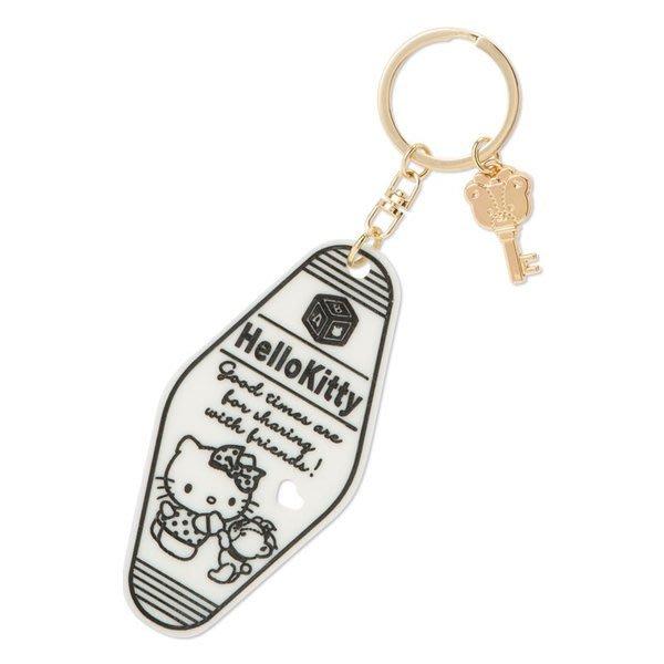 代購現貨 日本三麗鷗HELLO KITTY造型壓克力鑰匙圈 旅行探險系列