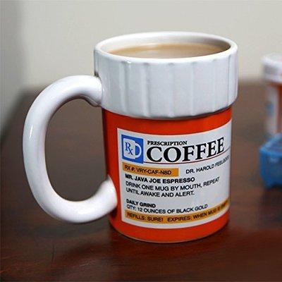 【丹】A_The Prescription Coffee Mug 藥罐 造型 辦公室療癒小物 馬克杯