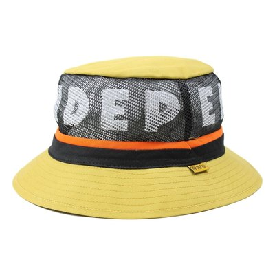 [CABAS滑板店] BRIXTON F/U HARDY BUCKET HAT 黃色   INDY 聯名 漁夫帽 透氣