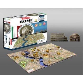 金錢貓雜貨 全新  4D立體拼圖 CITYSCAPE ROME 羅馬