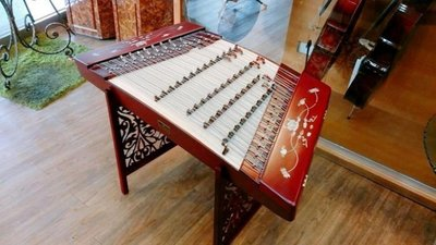 (((Musicman)))新402精選專業演奏級精品紅木貝雕荷花揚琴/ 現貨 台中市