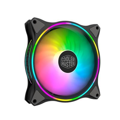 *硬派精璽* CoolerMaster MF140 Halo PWM ARGB風扇黑色000009000880