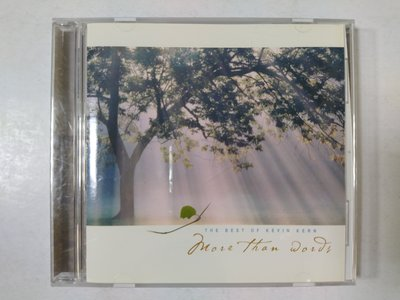 昀嫣音樂(CD39) More Than Words THE BEST OF KEVIN KERN 2003年 片況如圖