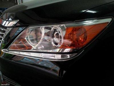 (松鼠的天堂)  2012年 7代 Camry Hybrid Lexus 式樣 大燈一體式 視覺 白天燈 日行燈 晝行燈