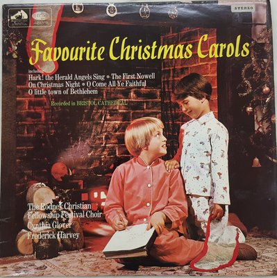 {夏荷美學生活小舖}古典黑膠 Favourite Christmas Carols/ Cynthia Glover