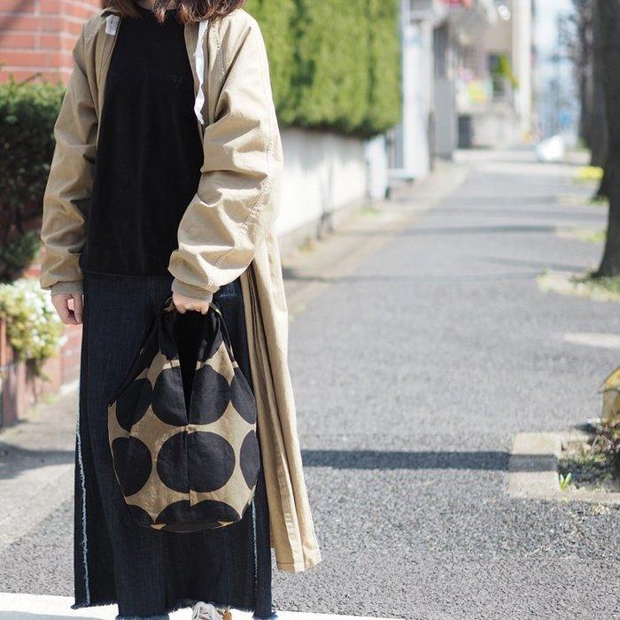 日本製 日系簡約MAISON BLANCHE 亞麻棉 肩背包 手提包 大容量