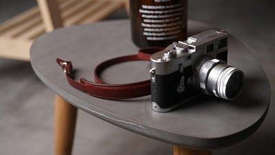 相機配件MrStone 手工植鞣皮相機肩帶徠卡肩托微單反背帶原創日系文藝掛繩