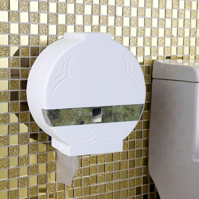 紙巾架 衛生間紙巾盒廁紙盒免打孔卷紙盒架馬桶壁掛式防水大盤紙巾筒
