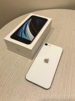 iPhone SE2 白色 128G 保固中 外觀如新 功能正常
