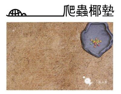 小郭水族-爬蟲館【 天然 爬蟲椰墊 45*30cm 2入】地墊 蜥蜴 爬蟲 陸龜 木屑 樹皮屑 60x45 90*30