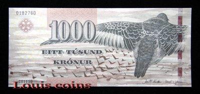 【Louis Coins】B491-FAEROE ISLANDS--2011法羅群島紙幣1000 Krónur