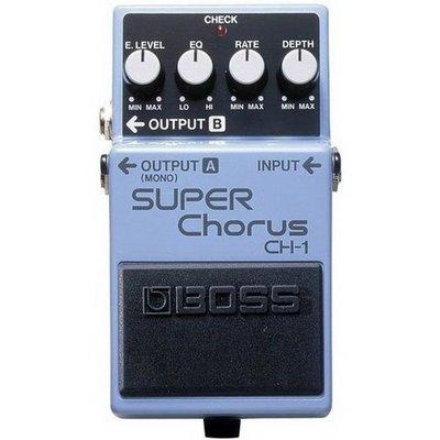 ☆ 唐尼樂器︵☆ BOSS CH-1 Super Chorus 超級 和聲 效果器 CH-1