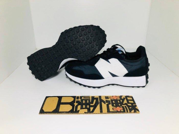【OB海外代購】New Balance327 黑 灰 雙色 拼接 鴛鴦 黑粉 慢跑鞋 復古 經典 WS327LLG